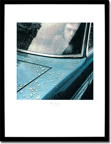 Peter Gabriel 1 - Car Framed Image