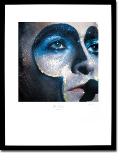 Peter Gabriel Plays Live, Album Cover. Framed Print