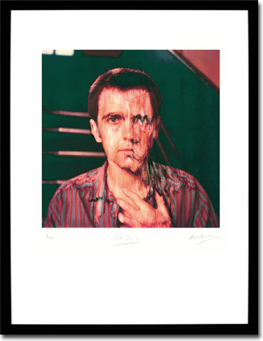 Peter Gabriel 3 - Melt, Album Cover. Framed Print