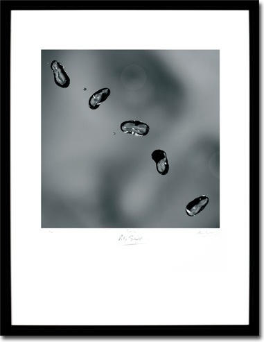 Peter Gabriel - Up, Album Cover. Framed Print