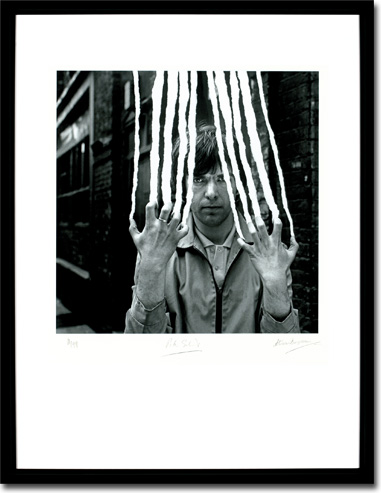 Peter Gabriel 2 - Scratch Framed Image