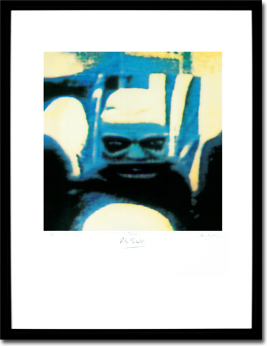 Peter Gabriel 4 - Security Framed Image